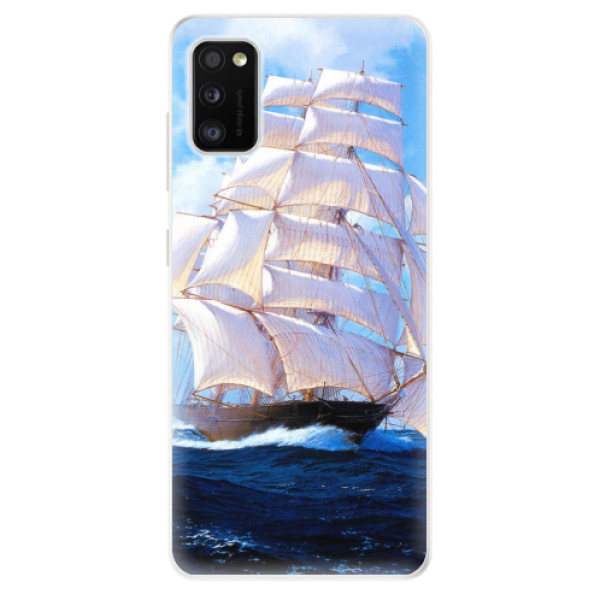 Odolné silikonové pouzdro iSaprio - Sailing Boat - Samsung Galaxy A41