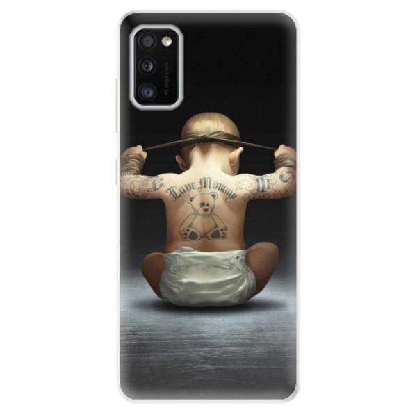 Odolné silikonové pouzdro iSaprio - Crazy Baby - Samsung Galaxy A41