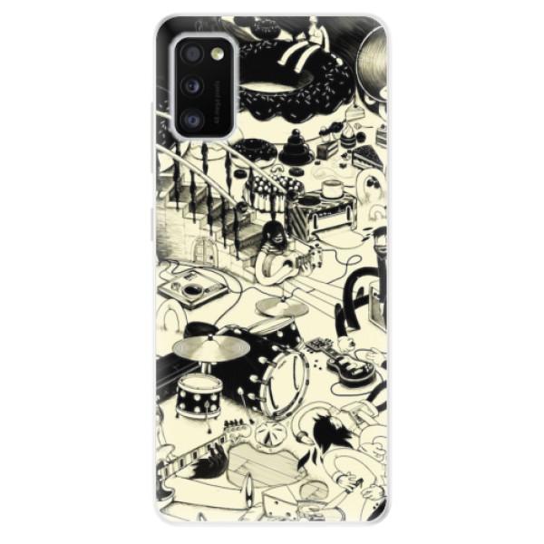 Odolné silikonové pouzdro iSaprio - Underground - Samsung Galaxy A41