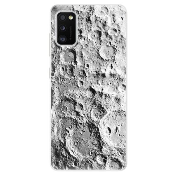 Odolné silikonové pouzdro iSaprio - Moon Surface - Samsung Galaxy A41