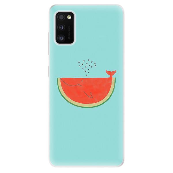 Odolné silikonové pouzdro iSaprio - Melon - Samsung Galaxy A41