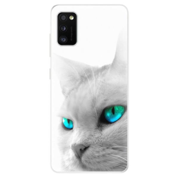 Odolné silikonové pouzdro iSaprio - Cats Eyes - Samsung Galaxy A41