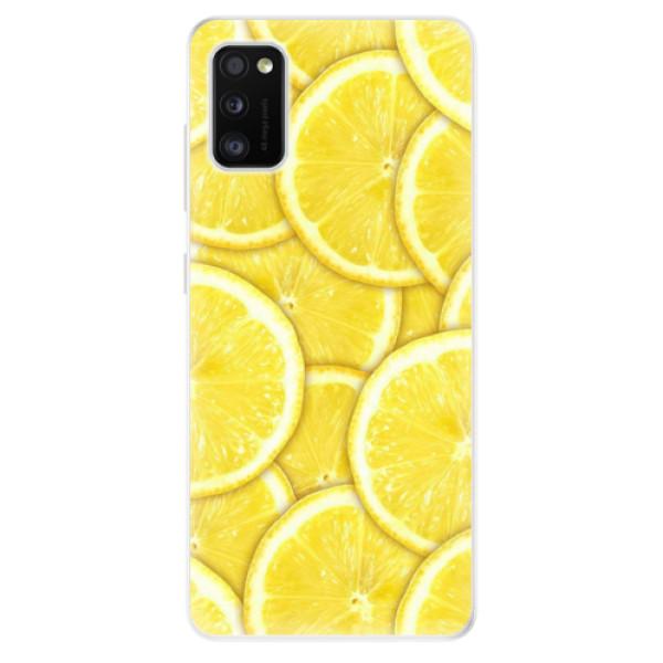 Odolné silikonové pouzdro iSaprio - Yellow - Samsung Galaxy A41