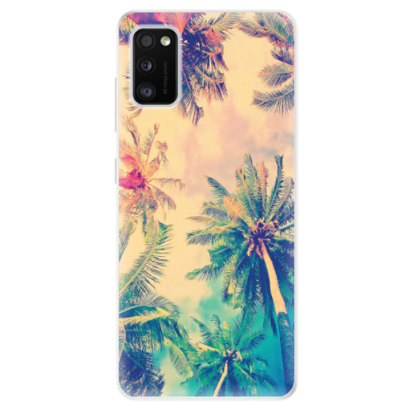 Odolné silikonové pouzdro iSaprio - Palm Beach - Samsung Galaxy A41