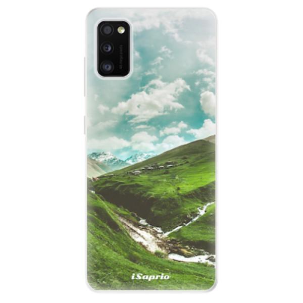 Odolné silikonové pouzdro iSaprio - Green Valley - Samsung Galaxy A41