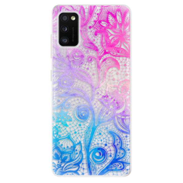Odolné silikonové pouzdro iSaprio - Color Lace - Samsung Galaxy A41