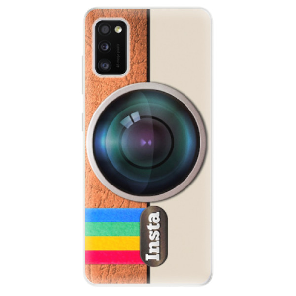 Odolné silikonové pouzdro iSaprio - Insta - Samsung Galaxy A41
