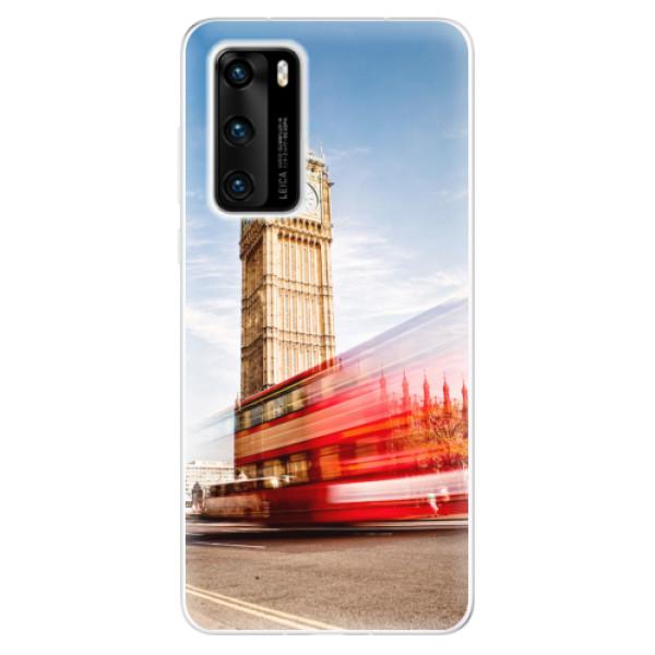 Odolné silikonové pouzdro iSaprio - London 01 - Huawei P40