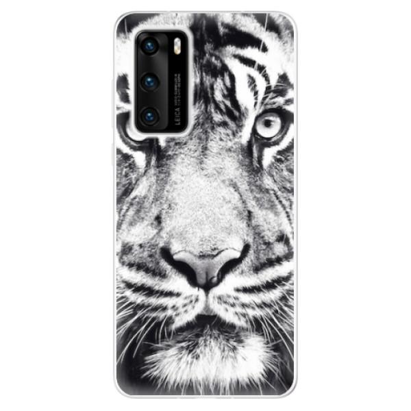Odolné silikonové pouzdro iSaprio - Tiger Face - Huawei P40