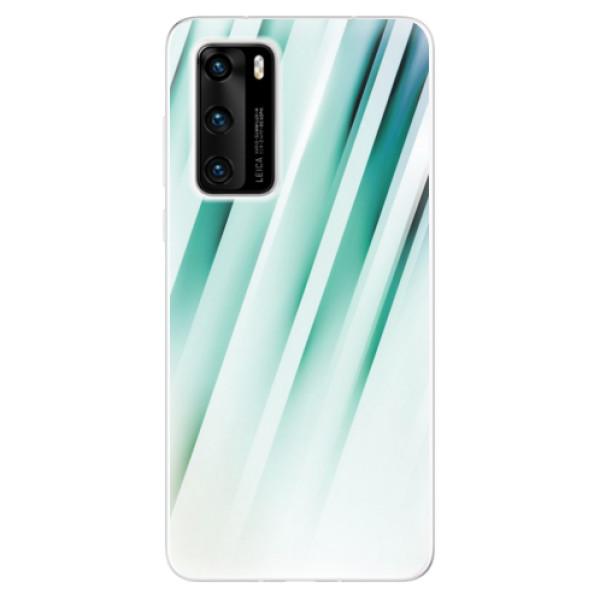 Odolné silikonové pouzdro iSaprio - Stripes of Glass - Huawei P40