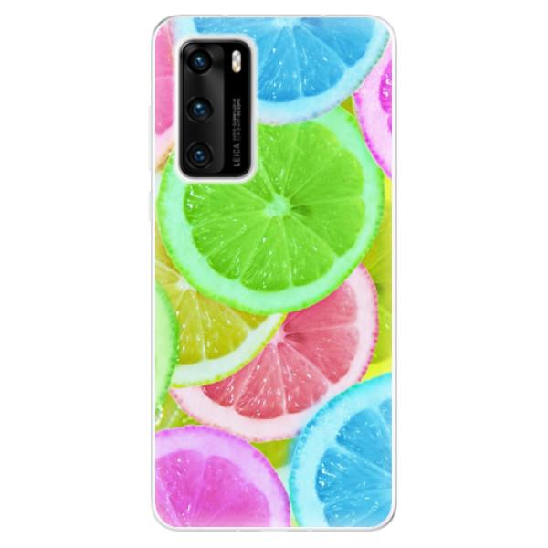 Odolné silikonové pouzdro iSaprio - Lemon 02 - Huawei P40