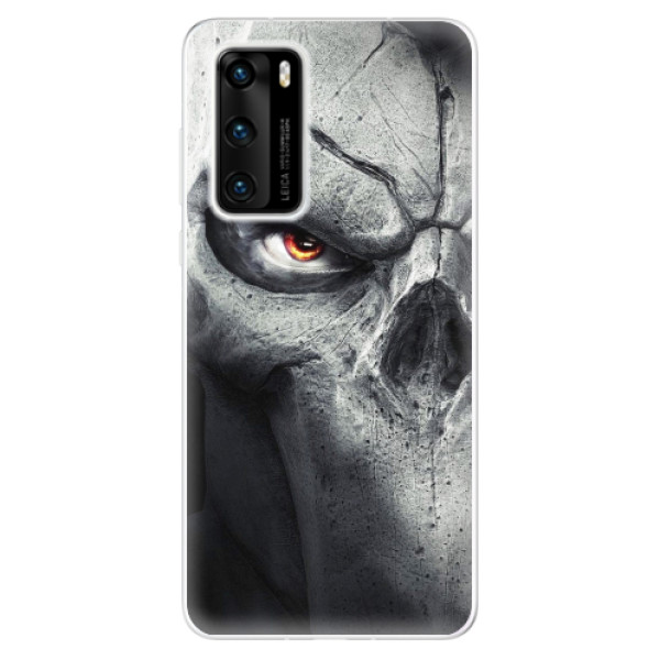 Odolné silikonové pouzdro iSaprio - Horror - Huawei P40
