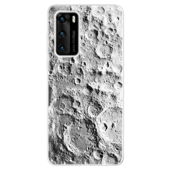 Odolné silikonové pouzdro iSaprio - Moon Surface - Huawei P40