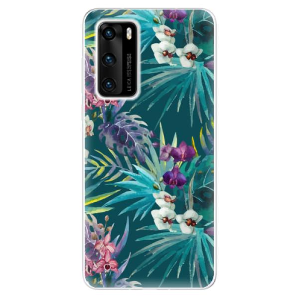 Odolné silikonové pouzdro iSaprio - Tropical Blue 01 - Huawei P40