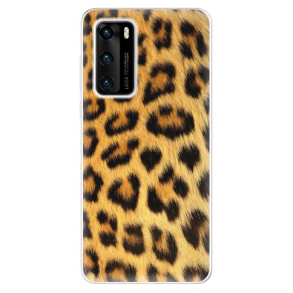 Odolné silikonové pouzdro iSaprio - Jaguar Skin - Huawei P40