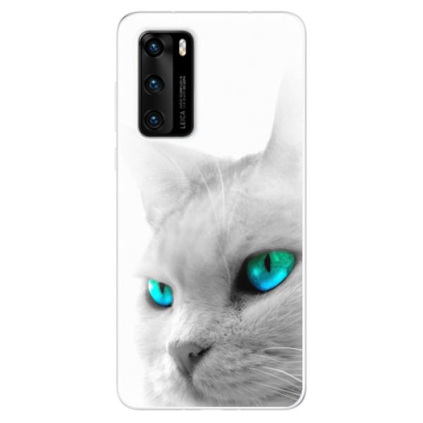Odolné silikonové pouzdro iSaprio - Cats Eyes - Huawei P40