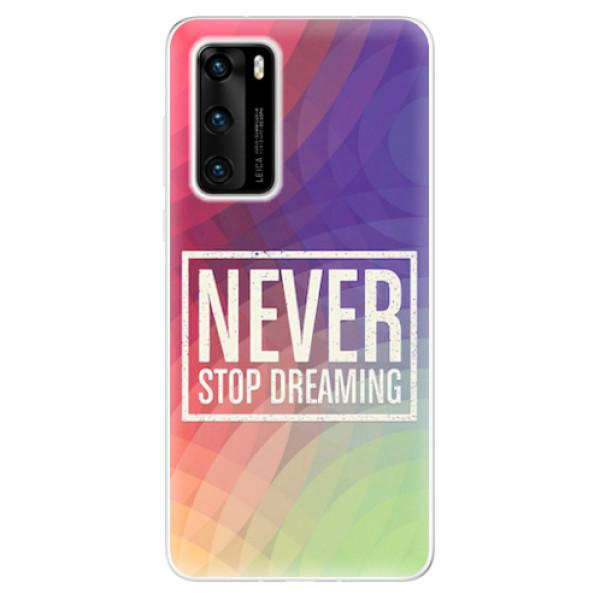 Odolné silikonové pouzdro iSaprio - Dreaming - Huawei P40