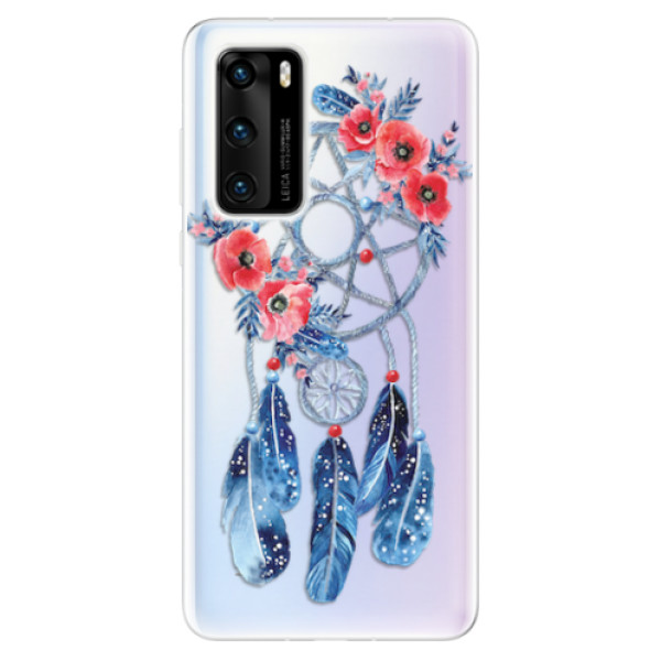 Odolné silikonové pouzdro iSaprio - Dreamcatcher 02 - Huawei P40