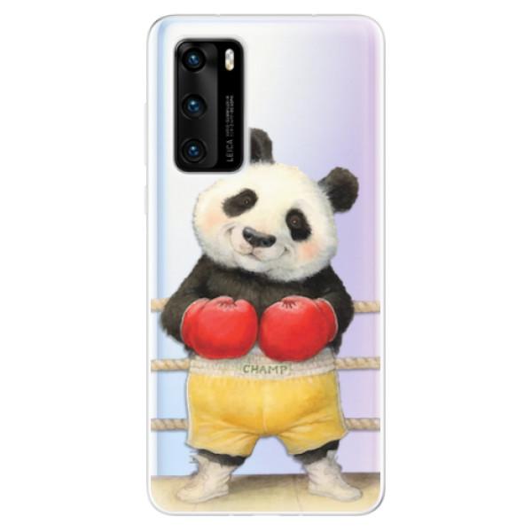 Odolné silikonové pouzdro iSaprio - Champ - Huawei P40