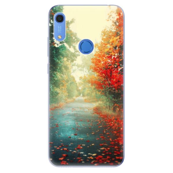 Odolné silikonové pouzdro iSaprio - Autumn 03 - Huawei Y6s