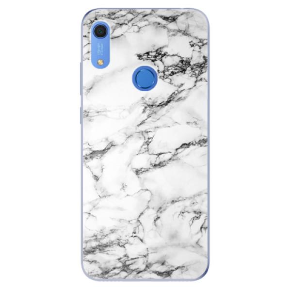 Odolné silikonové pouzdro iSaprio - White Marble 01 - Huawei Y6s