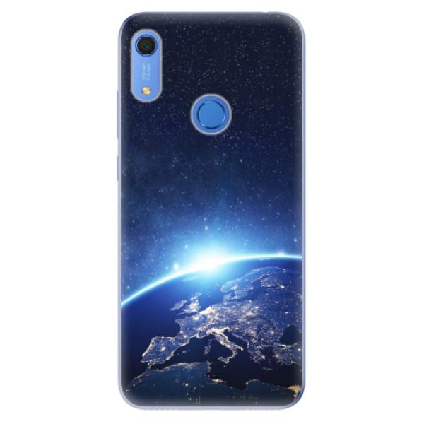 Odolné silikonové pouzdro iSaprio - Earth at Night - Huawei Y6s