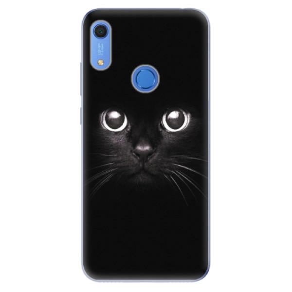 Odolné silikonové pouzdro iSaprio - Black Cat - Huawei Y6s