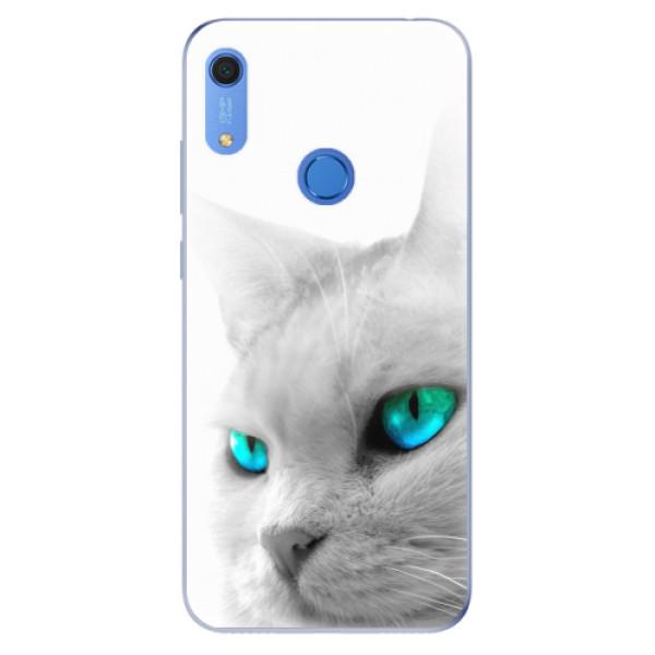 Odolné silikonové pouzdro iSaprio - Cats Eyes - Huawei Y6s