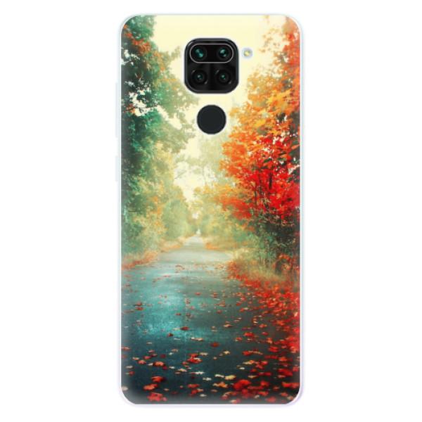 Odolné silikonové pouzdro iSaprio - Autumn 03 - Xiaomi Redmi Note 9