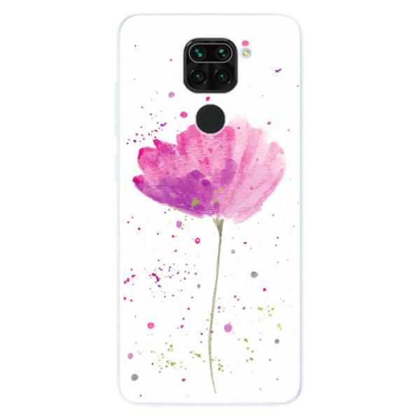 Odolné silikonové pouzdro iSaprio - Poppies - Xiaomi Redmi Note 9