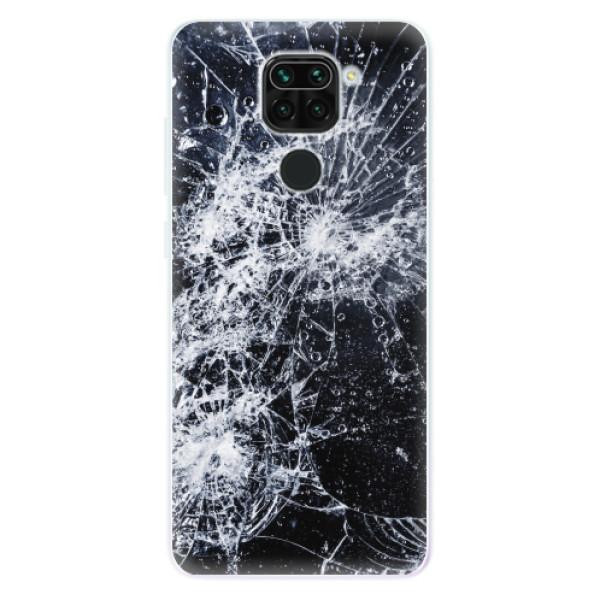 Odolné silikonové pouzdro iSaprio - Cracked - Xiaomi Redmi Note 9