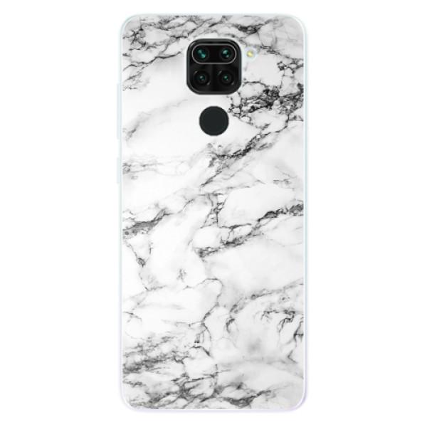 Odolné silikonové pouzdro iSaprio - White Marble 01 - Xiaomi Redmi Note 9
