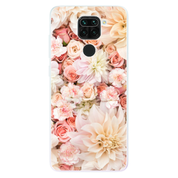 Odolné silikonové pouzdro iSaprio - Flower Pattern 06 - Xiaomi Redmi Note 9