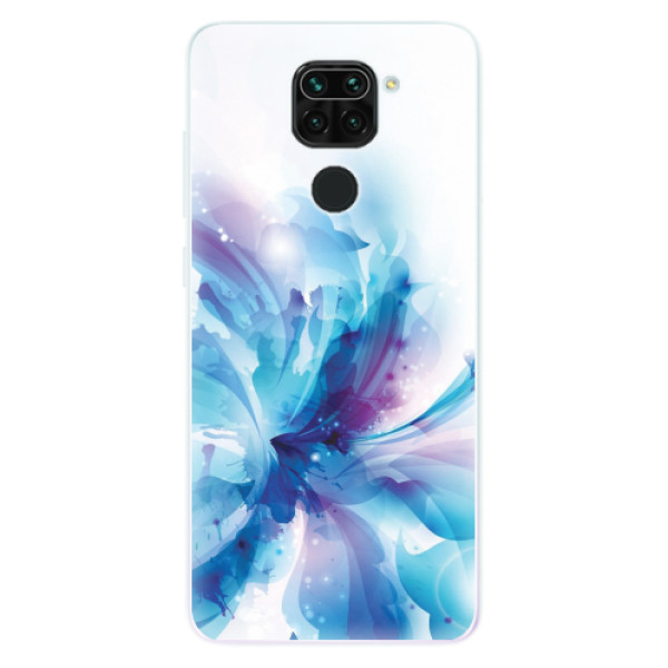Odolné silikonové pouzdro iSaprio - Abstract Flower - Xiaomi Redmi Note 9