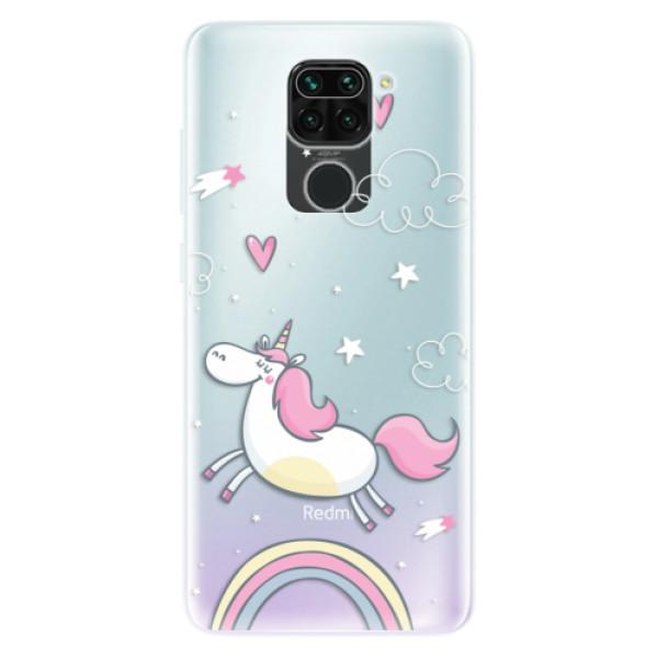 Odolné silikonové pouzdro iSaprio - Unicorn 01 - Xiaomi Redmi Note 9