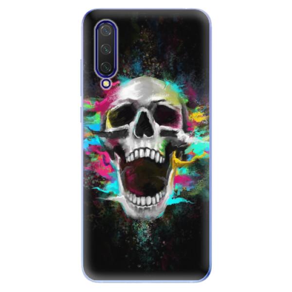 Odolné silikonové pouzdro iSaprio - Skull in Colors - Xiaomi Mi 9 Lite