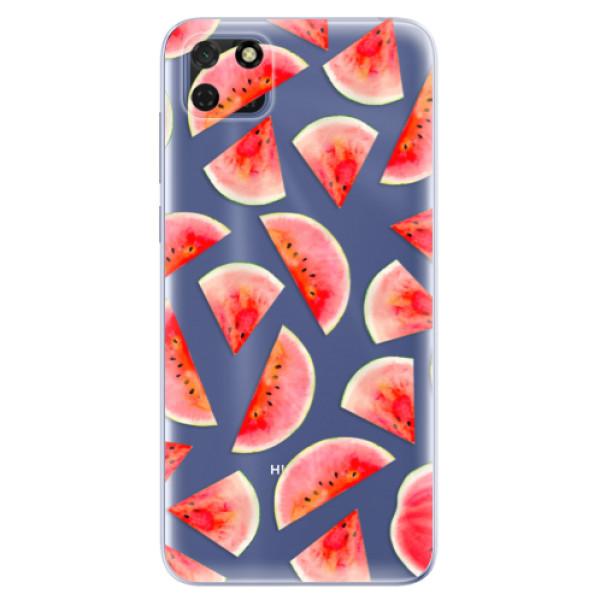Odolné silikonové pouzdro iSaprio - Melon Pattern 02 - Huawei Y5p