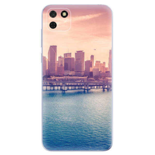 Odolné silikonové pouzdro iSaprio - Morning in a City - Huawei Y5p