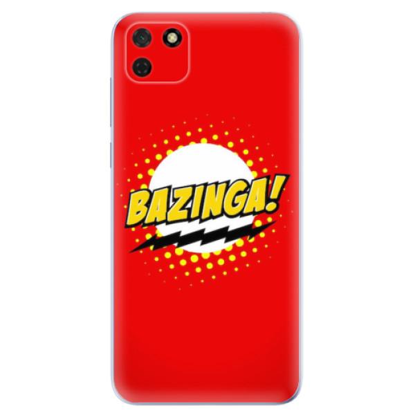 Odolné silikonové pouzdro iSaprio - Bazinga 01 - Huawei Y5p