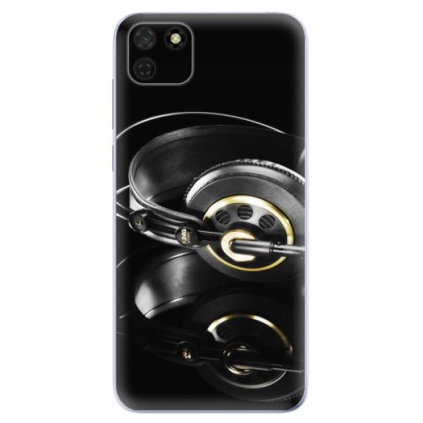 Odolné silikonové pouzdro iSaprio - Headphones 02 - Huawei Y5p