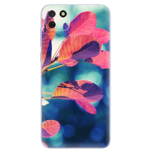 Odolné silikonové pouzdro iSaprio - Autumn 01 - Huawei Y5p