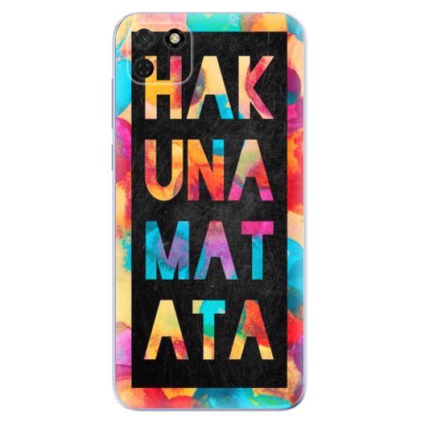 Odolné silikonové pouzdro iSaprio - Hakuna Matata 01 - Huawei Y5p