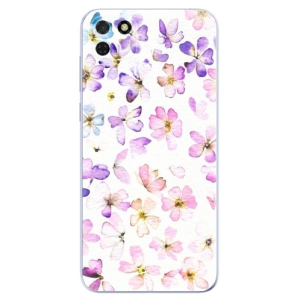 Odolné silikonové pouzdro iSaprio - Wildflowers - Huawei Y5p