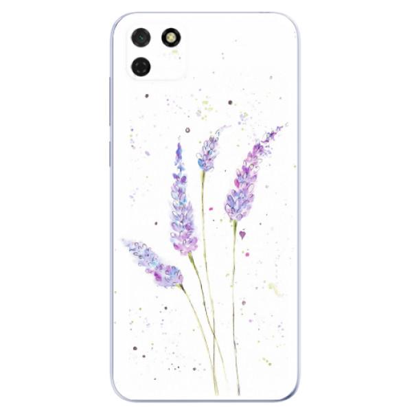 Odolné silikonové pouzdro iSaprio - Lavender - Huawei Y5p
