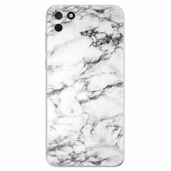 Odolné silikonové pouzdro iSaprio - White Marble 01 - Huawei Y5p