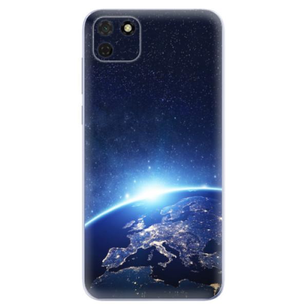 Odolné silikonové pouzdro iSaprio - Earth at Night - Huawei Y5p