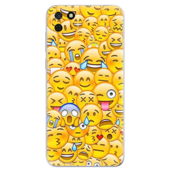 Odolné silikonové pouzdro iSaprio - Emoji - Huawei Y5p