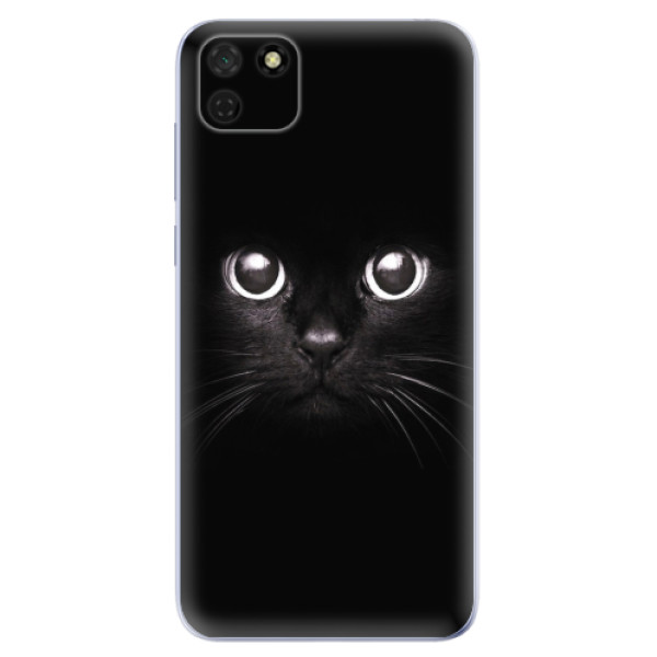 Odolné silikonové pouzdro iSaprio - Black Cat - Huawei Y5p
