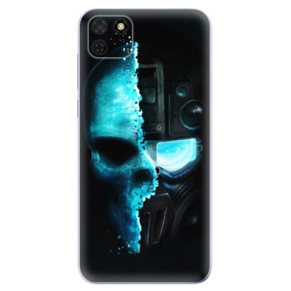 Odolné silikonové pouzdro iSaprio - Roboskull - Huawei Y5p