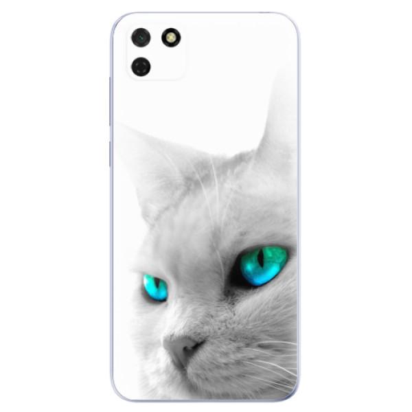 Odolné silikonové pouzdro iSaprio - Cats Eyes - Huawei Y5p